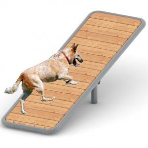 מתקן לאיזון ושיווי משקל לאימון כלבים פיברן מומחים בפיתוח ויצור של מתקנים לגני שעשועים